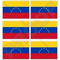 Venezuela EX Civil bandera (7Star) venezolana. América del Sur 40mm (1,6