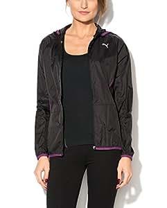 Puma Essentials Women's Lightweight Hooded Jacket (Black, UK 10 / EU 38 / US S)