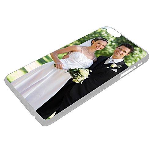 PixiPrints Premium Handyhülle selbst gestalten mit eigenem Foto und Text * Bild Schutzhülle, Hüllentyp: Hardcase/Transparent, Kompatibel mit Apple iPhone XS Max