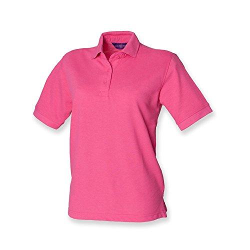 Henbury Damen Pique Polo Shirt - Pocket Pique Polo-shirt
