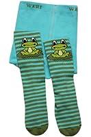 Weri Spezials ABS Krabbelstrumpfhosen mit dem Frosch in Blau-Gruen