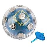 QingTanger Descarga eléctrica impactante Que Brilla Bola del Partido de X'Mas de Juegos de Entretenimiento de Juguete de Regalo
