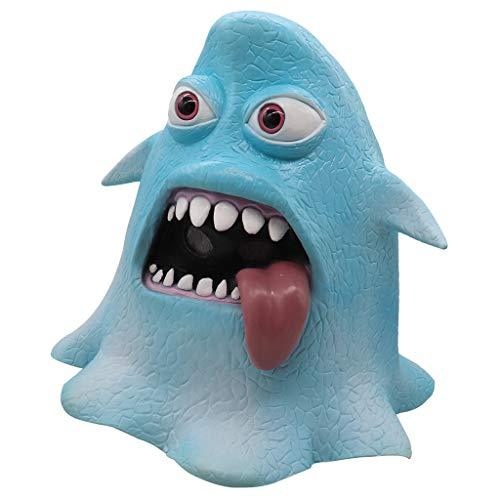Oyedens Halloween Masken Octopus Maskentanz Requisiten Octopus Style Mask Melting Face Latex Kostüm für Erwachsene Halloween - Scary Kostüm Zum Verkauf