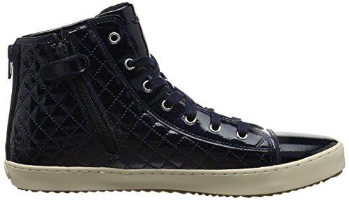 Geox Unisex-Erwachsene J Kalispera Girl F Hohe Sneaker Blau (Navy)
