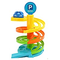 Katies Playpen - Baby Best Buys Fun My First 4 Storey Car Park including Racing Car - Suitable From 12 Months