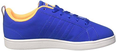 adidas Jungen Advantage Vs K Halbschuhe mehrfarbig (Blue/Ftwwht/Sogold)