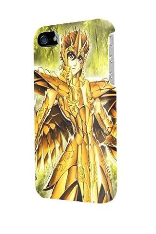 ip50661 Saint Seiya Glossy Schutzhülle Tasche Case Cover For Iphone 5/5S (Saint Seiya Cosplay)