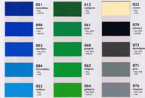 Oracal Orafol 651 Folie 5m freie Farbwahl 60 glänzende Farben in 4 Größen, 31,5 cm Farbe 10 - 7