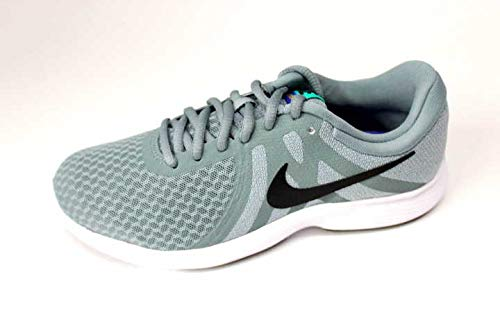 Nike Damen WMNS Revolution 4 EU Leichtathletikschuhe, Mehrfarbig (Aviator Black/Barely Grey 000), 42