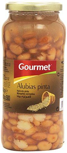 Gourmet Primera Alubias Pinta - Paquete de 6 x 400 gr - Total 2400 gr