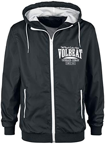 Volbeat Louder and Faster Coupe-Vent Noir/Blanc