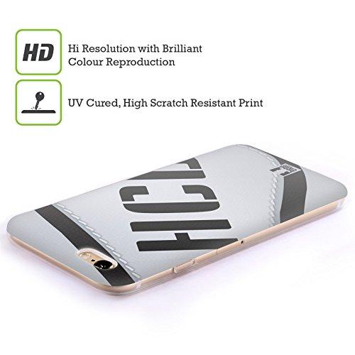 Head Case Designs Unbegrenztheitsstreifen Meine BFF Hüllen Soft Gel Hülle für Apple iPhone 6 / 6s Hurlingspiel