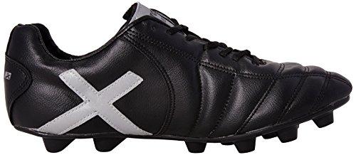 Vector X Dynamic 001 Football Shoes, Men's UK 8 (Black/Silver)