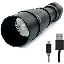 Linterna infrarroja de visión nocturna 5 W 850 nm/940 nm LED IR linterna para actividades al aire libre - para ser utilizado con dispositivo de visión nocturna