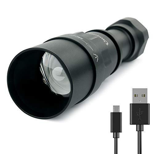 Infrarot-Taschenlampe IR-Nachtsicht-Lampe, 5 W, 850 nm/940 nm, LED, IR-Taschenlampe für Outdoor-Aktivitäten - zur Verwendung mit Nachtsichtgerät 850 Nm Led