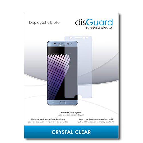 disGuard® Bildschirmschutzfolie [Crystal Clear] kompatibel mit Samsung Galaxy Note 7 [3 Stück] Kristallklar, Transparent, Unsichtbar, Extrem Kratzfest, Anti-Fingerabdruck - Panzerglas Folie, Schutzfolie