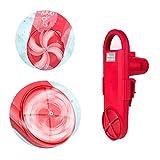 GJQDDP Tragbare Waschmaschine, Faule tragbare Handwäscher intelligente Steuerung, wenn elektronische Plattenton kleine bidirektionale Rotation Touch Control Power ist groß
