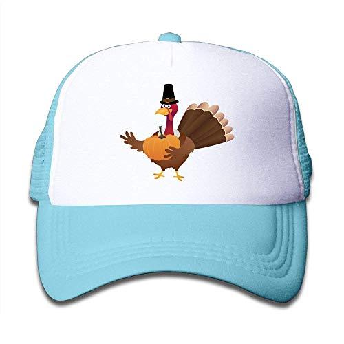 JJIAYI Happy Thanksgiving Turkey Pumpkin Toddler Cotton Adjustable Mesh Baseball Cap (Thanksgiving-outfit Toddler Boy)