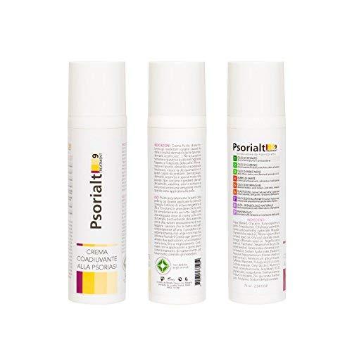 Crema - Psorialt 9 Treatment, 75 ml - efficace contro la psoriasi, eritemi, eczemi e dermatiti --> con 9 principi attivi naturali