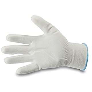 ASUP professional quality painter's PU gloves, with fine knitted waistband, size 10, pack of 12