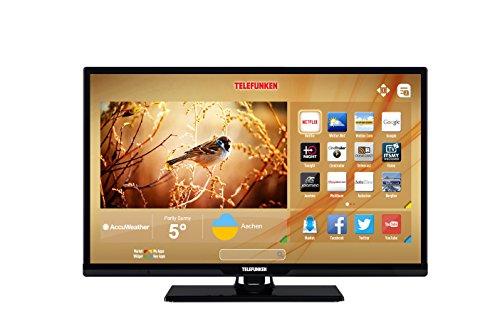 telefunken xh24d401vd 60 cm 24 zoll fernseher hd ready triple tuner smart tv dvd player. Black Bedroom Furniture Sets. Home Design Ideas
