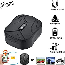 Tkstar GPS Tracker pour GSM/GPRS de vélo Outil de suivi avec application gratuite Sports Accessories Gps (TK905B)
