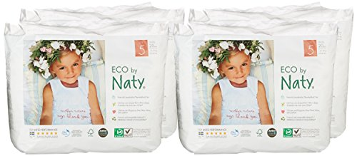 Naty by Nature Babycare Öko Höschen-Windeln – Größe 5 (12-18 Kg), 4er Pack (4 x 20 Stück) - 2