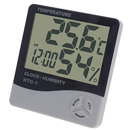 Smartfox Digitale Uhr mit Thermometer und Alarm-Funktion