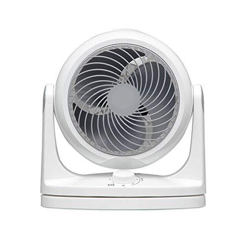 Elektroventilator Leiser Luftumwälzventilator Standventilator Energiesparventilator (Farbe: Weiß)