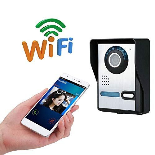 MOMAMO Videoportero, Video Doorbell, WiFi Inteligente