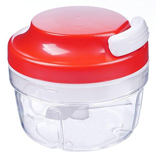 GOOTRADES Mode Küche Lebensmittel Chopper Spiralschneider Fleisch Obst Cutter Mixer Salat Crusher