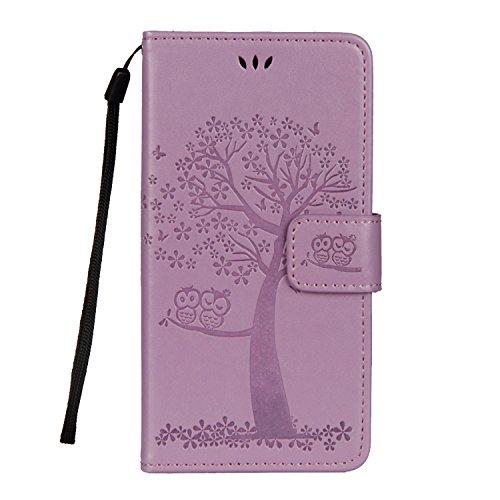 Cover iPhone X, Sportfun Custodia Portafoglio In Pelle Con Wallet Case Cover Per iPhone X con Porta Carte e Funzione Stand (08) 04