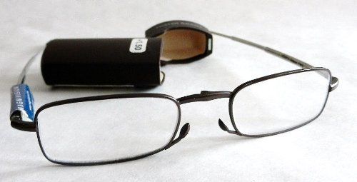 2cf69897af8 Magnivision - The Gideon Folding Reader Glasses - 1.50 Power by Foster Grant