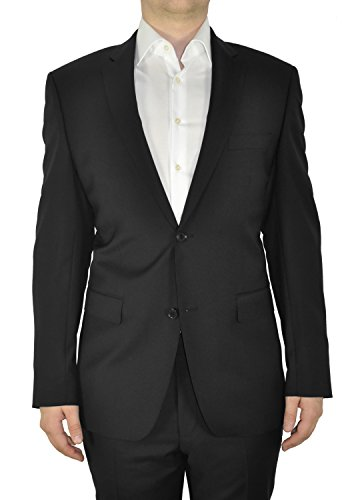 Michaelax-Fashion-Trade - Blazer - Uni - Manches Longues - Homme Black (001)