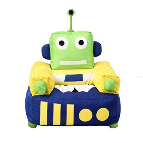 Canapés Canapé Pour Enfant Pouf Vert En Tissu Coussin Portable Pour Fauteuil D'enfant Chaise Longue (Color : Green, Size : 20.4 * 25.6 * 29.5in)