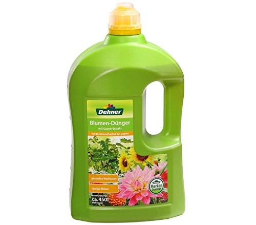 Dehner Blumen-Dünger mit Guanoextrakt, 3 l, für ca. 450 l