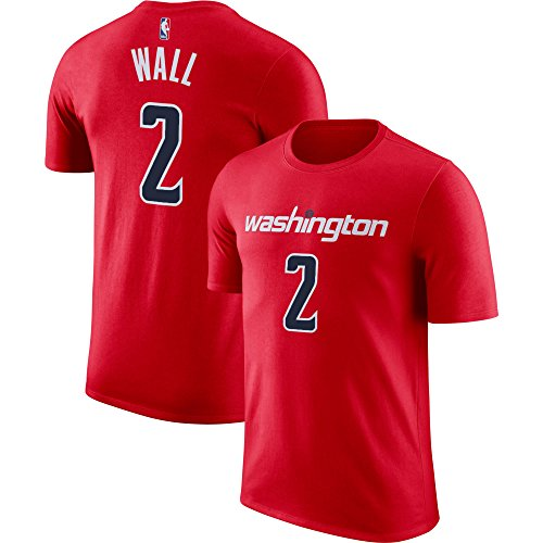 Outerstuff NBA Youth Performance Game Time Team Farbspieler Name und Nummer Trikot, Jungen, John Wall, X-Large (18/20)