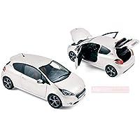 NOREV NV184824 PEUGEOT 208 GTI 2013 PEARL WHITE 1:18 MODELLINO DIE CAST MODEL