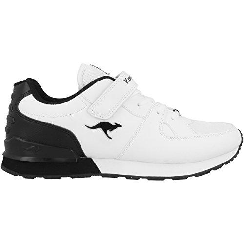 KangaROOS Kinderschuhe K-Jog VI Unisex white-black (16053-005)