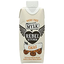 Rebel Kitchen Dairy Free Organic Chai Mylk 330ml (Pack of 6)