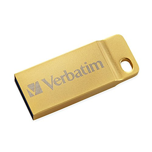 Verbatim store'n' go flash usb 3.0, 64gb, oro