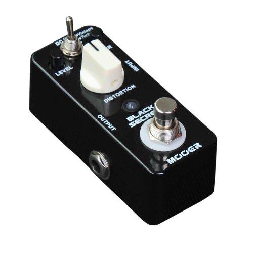 Mooer Black Secret–Pedal de distorsión para guitarra eléctrica