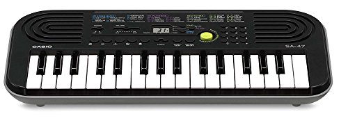 Casio SA-47A Electronic Keyboard, Black