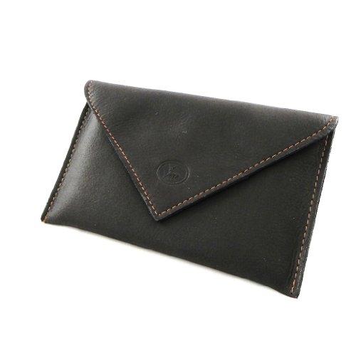 comprare popolare 220f7 b6514 Porta documenti in pelle per auto 'Frandi' marrone (slim).