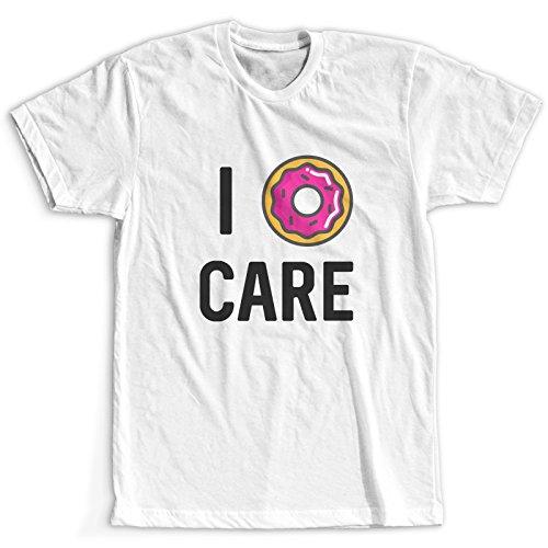 I Donut Care Maglietta / T-Shirt Bianco Donna / Più colori e dimensioni / Spedizione Veloce