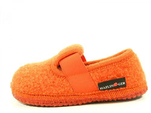 Josf Haflinger, Pantoufles Unisexe-enfant Orange
