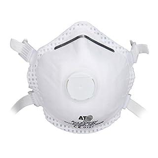5 Atemschutzmaske Feinstaubmaske FFP 3 Staubmaske Atemmaske mit Ventil