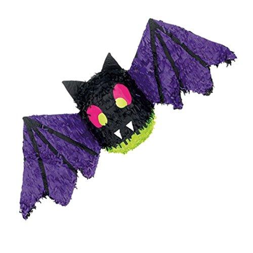 amscan P12970 Spiel Zubehör-Pinata Spooky Fledermaus (Auf Eines Liedes Flügeln Den)