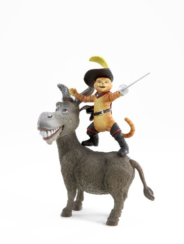 Shrek 3 - Donkey & Puss In Boots Dueling Duo Action Figure