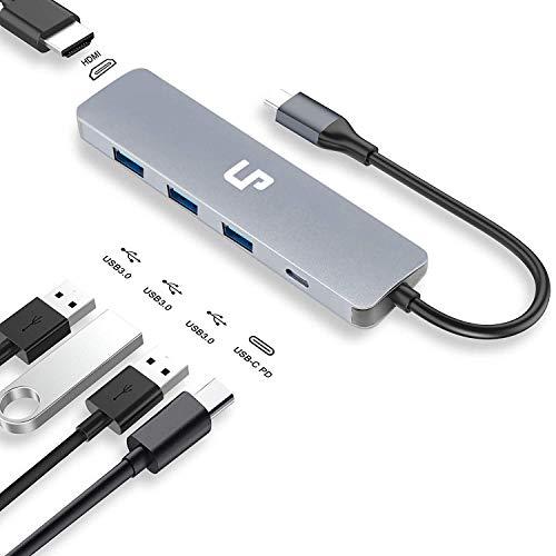Sabrent El hub USB 10 Puertos 60W interruptores alimentación